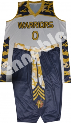 Sublimation Printed Basketball Uniform