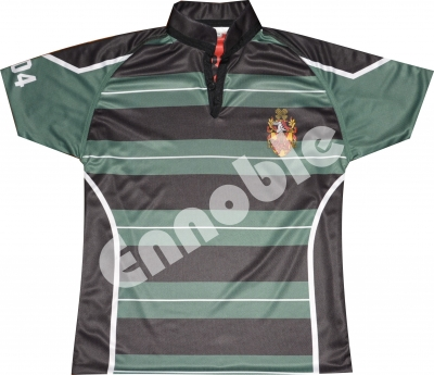 Sublimation Printed Rugby Shirt