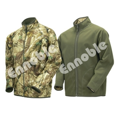 UK-507 TECL-WOOD Reversible Soft Shell Camouflage Jacket