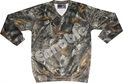 UK-518 TECL-WOOD Camo Sweatshirt