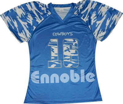 Sublimation Camo Football Jersey