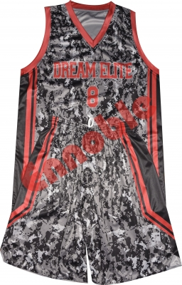 Sublimation Printed Camouflage Uniform